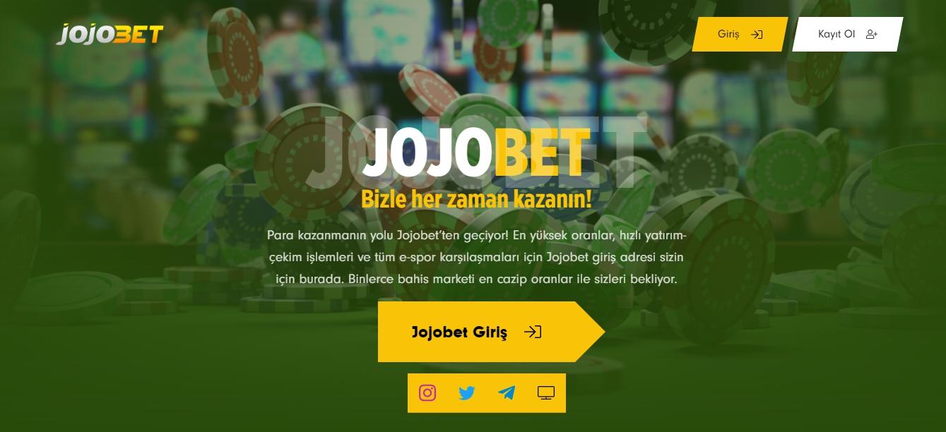 Jojobet Apk Türkiye'de
